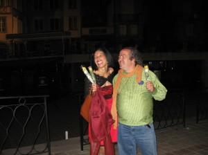 soirée brésilienne place de la Motte 2009